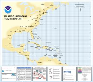 thumbnail for chart Atlantic Hurricane Tracking Chart